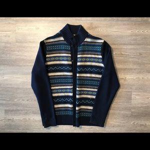 Tommy Hilfiger Navajo print Wool Cardigan Sweater